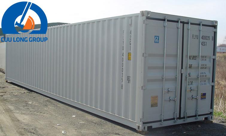 Container 40 feet chứa bao nhiêu tấn, thể tích khối, kích thước?