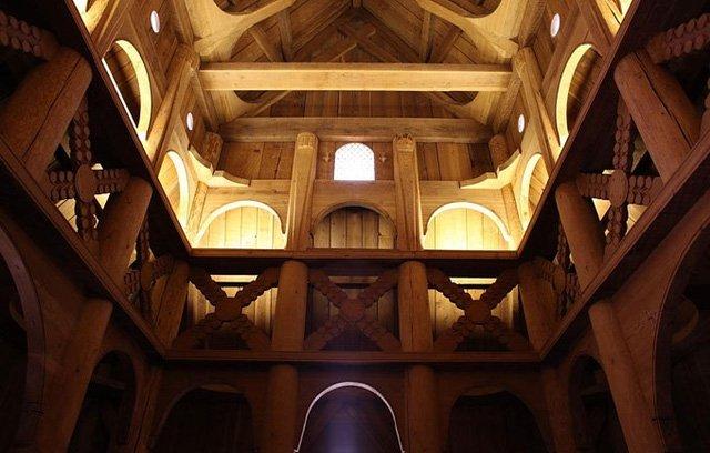 Nhà gỗ na uy bền đẹp với thời gian